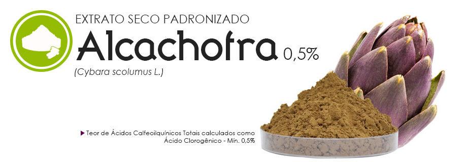 Alcachofra 0,5% Extrato Seco Padronizado